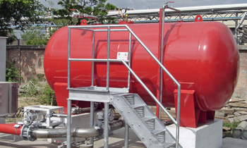 Storage Tank Fire Extinguishing