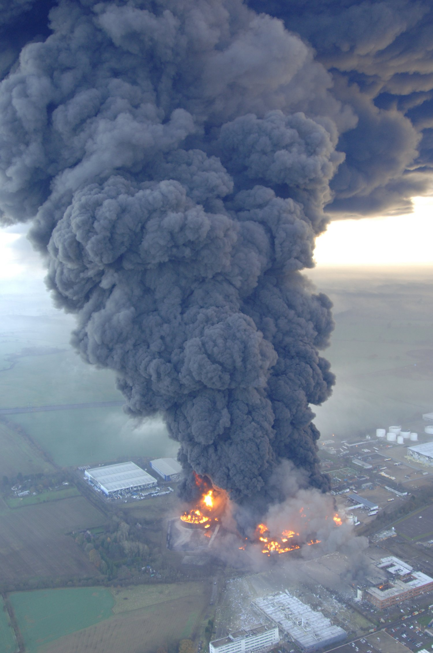 Disaster recovery: Buncefield storage tank fire
