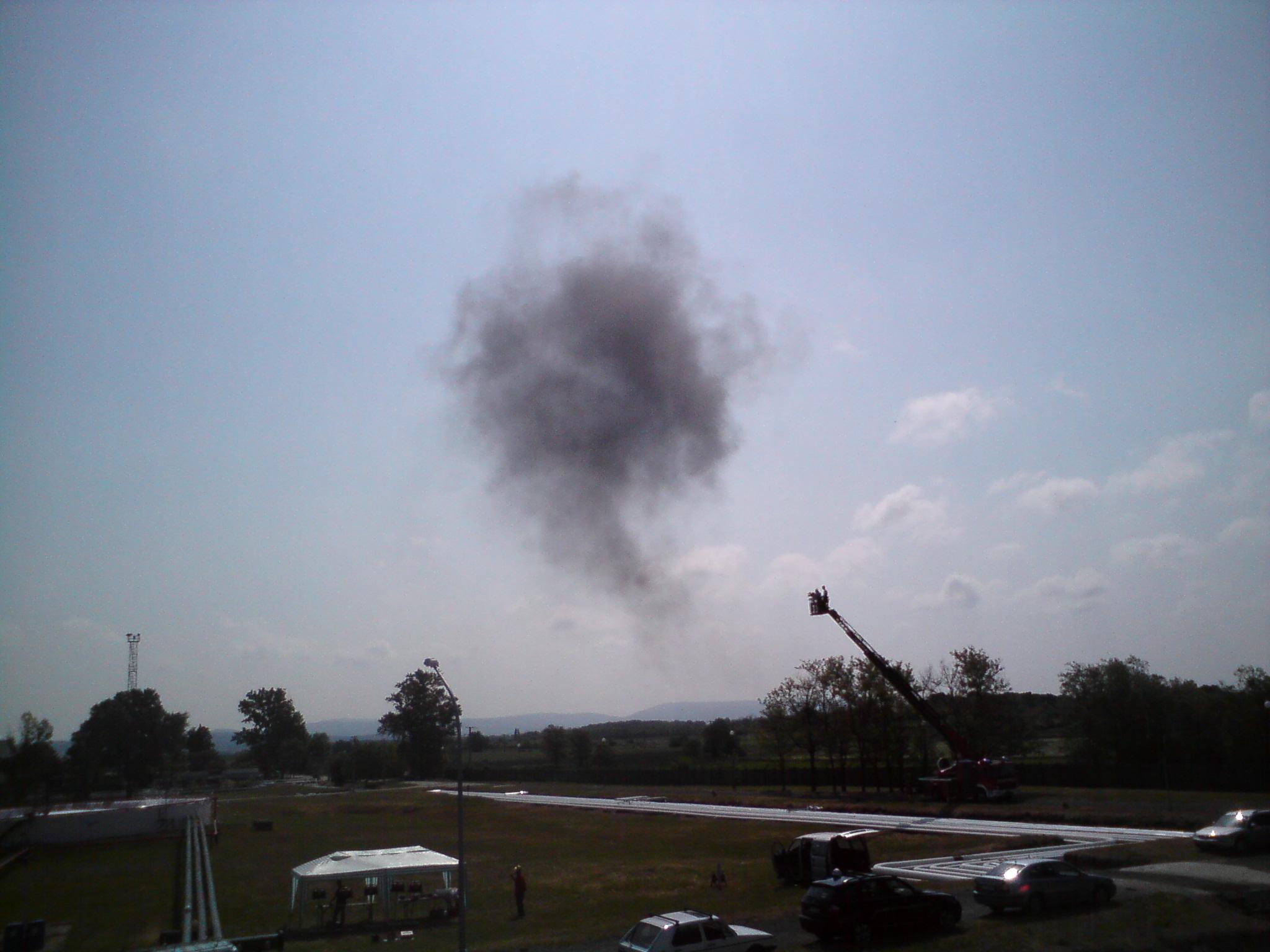 Storage tank fire suppression