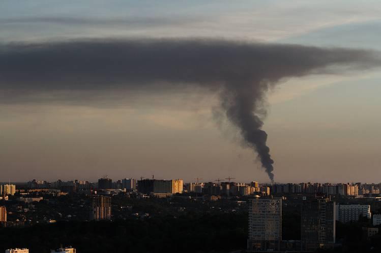 Kiev fire 2015 July